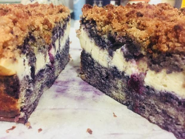 Blueberry Cheesecake Coffee Cake
